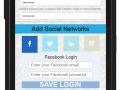 Selecting Facebook