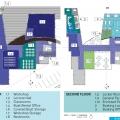 Boating Center: Second Floor Plan