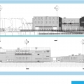 Boating Center: North South Elevations