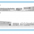 Boating Center: East West Elevations