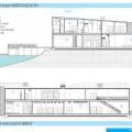 Boating Center: North Building Sections