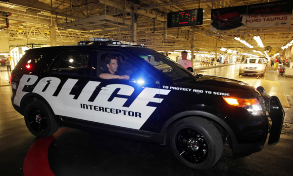New Chicago Police Cruiser