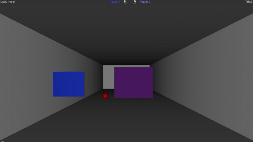 Shot of Crazy Pong gameplay